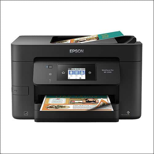 Epson WorkForce Pro WF-3720 Wireless All-in-One Color Inkjet Printer