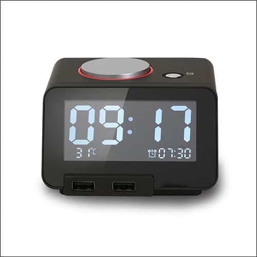 Hometime thermostat alarm clock