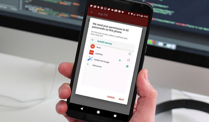 How to Use AutoFill Feature in Android Oreo