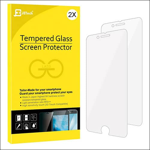 JETECH iPhone 8 screen protectors