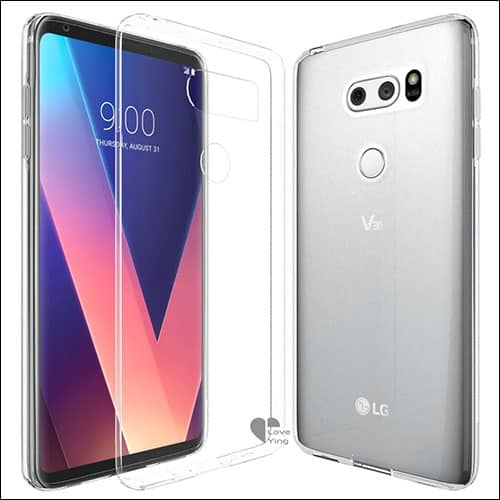 Love-Ying LG V30 Clear Cases