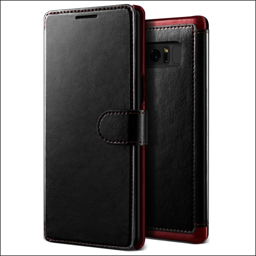 Lumion Wallet Leather Galaxy Note 8 Case