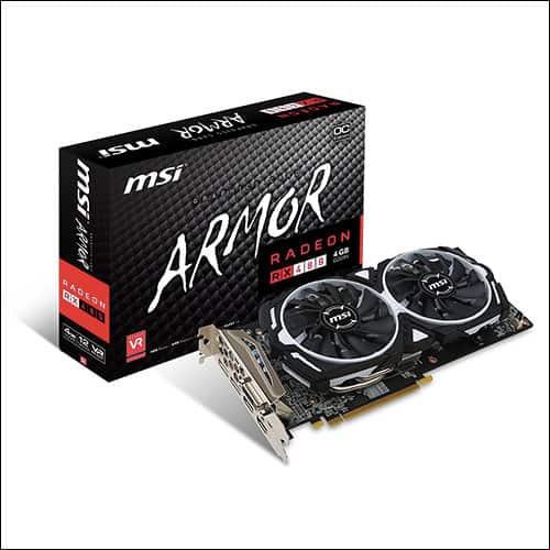 MSI RX 480 ARMOR 4G OC 4GB GDDR5