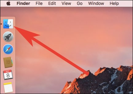 Open Finder Window