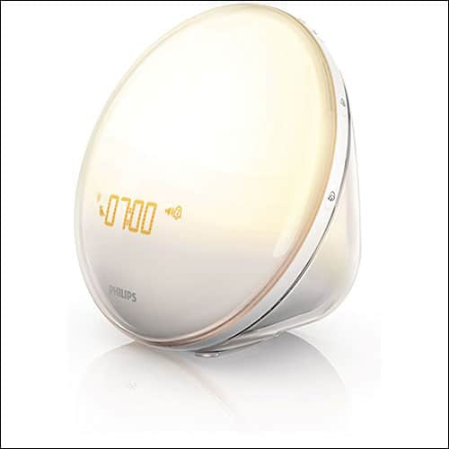 Philips sunrise light alarm clock