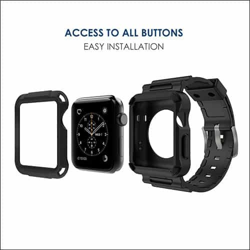 Simpeak Apple Watch Series 3 Case