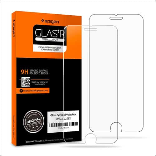 Spigen iPhone 8 screen protectors