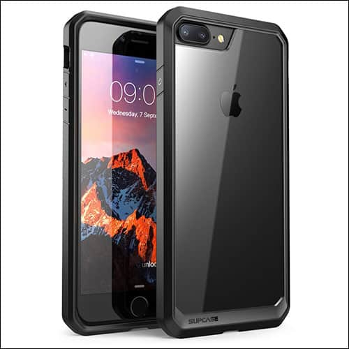 Supcase iPhone 8 Plus Clear Case