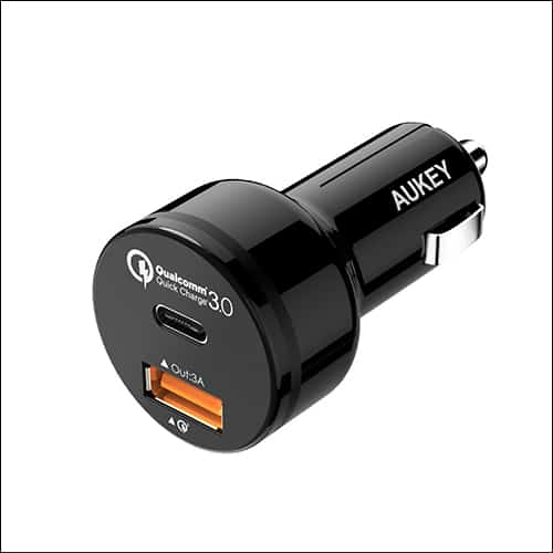 Aukey Google Pixel 2 and Pixel 2 XL Car Charger