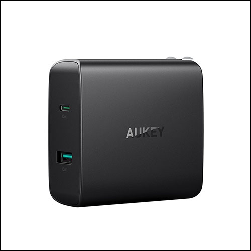 Aukey USB C Charger for iPhone X, iPhone 8 Plus and iPhone 8