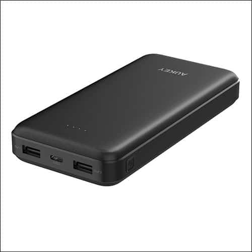 Aukey USB C Power Bank for iPhone