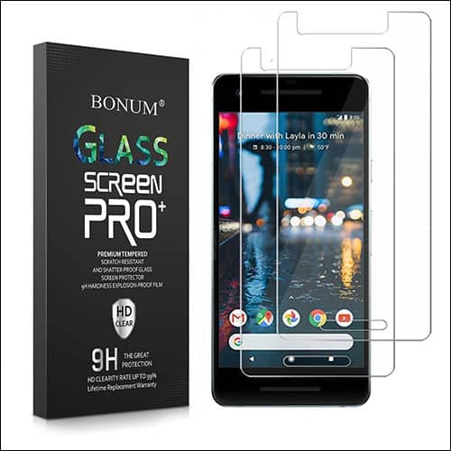BONUM Google Pixel 2 Screen Protectors