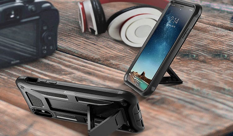 huge selection of 0bd91 9c3bc 10 Best iPhone X Kickstand Cases: Hands-free Sophistication for ...