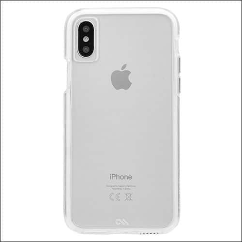 Case-Mate iPhone X Clear Case