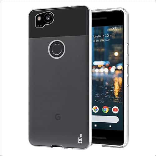 DGtle Google Pixel 2 Clear Case
