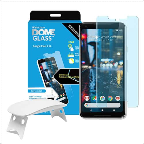 Dome Glass tempered glass screen protector for Google Pixel 2 XL