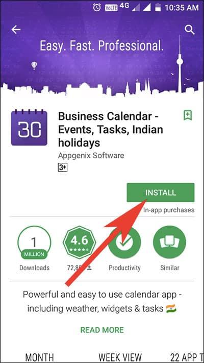 Download Business Calendar 2