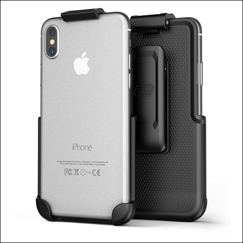 Encased iPhone X Belt Clip Case
