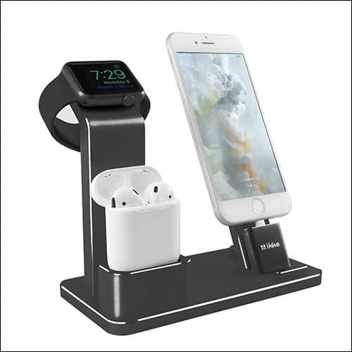 IKKE Aluminium Charging Stand for iPhone X, iPhone 8, iPhone 8 Plus