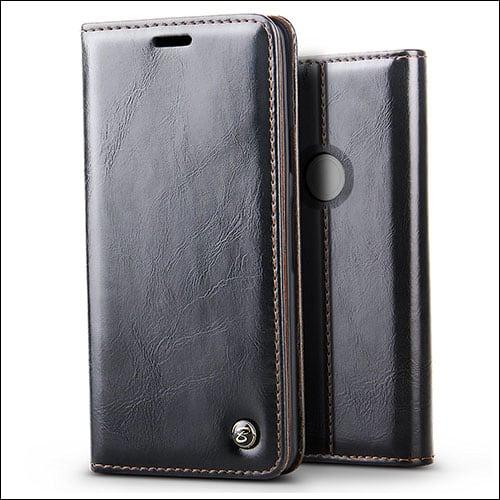 JGOO Google Pixel 2 XL Wallet Case