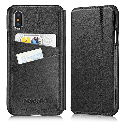 Kavaj iPhone X Flip Case