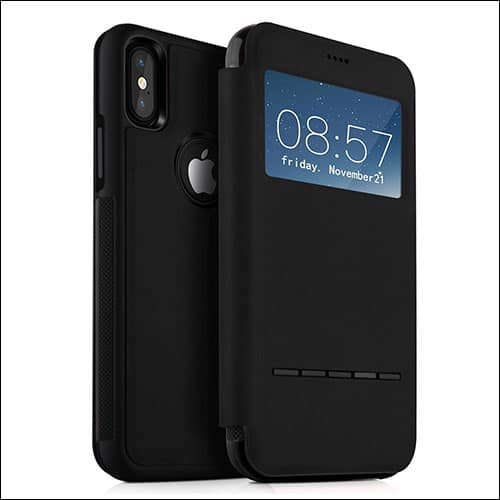 Kugi iPhone X Flip Case