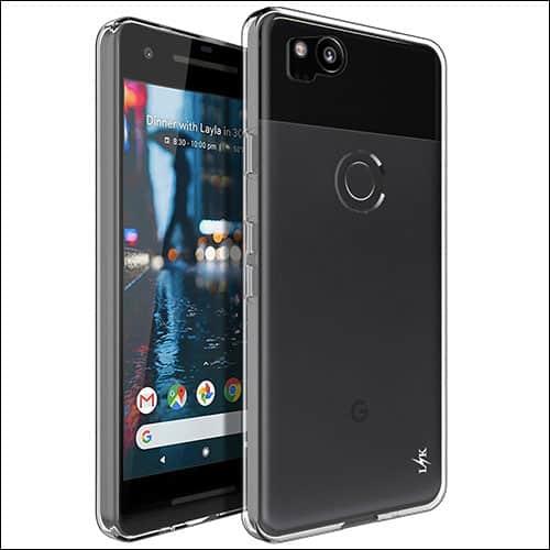 LK Google Pixel 2 Clear Case