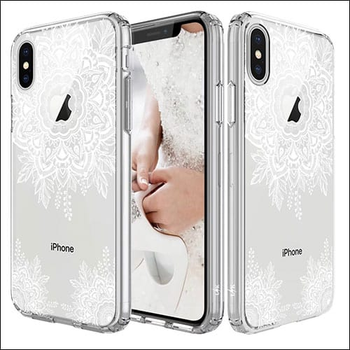 LK iPhone X Clear Case