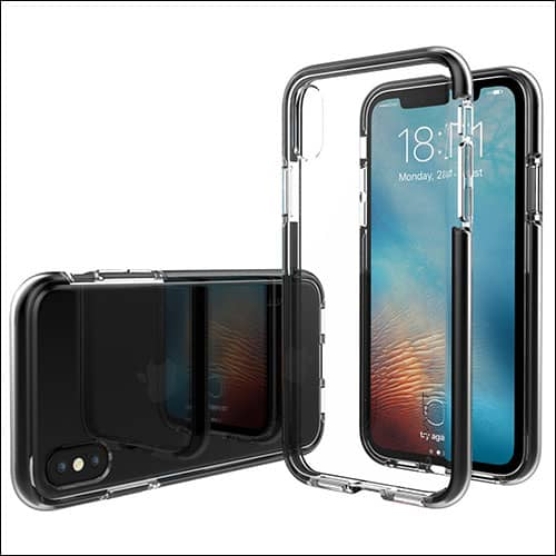 LUVVITT iPhone X Bumper Case
