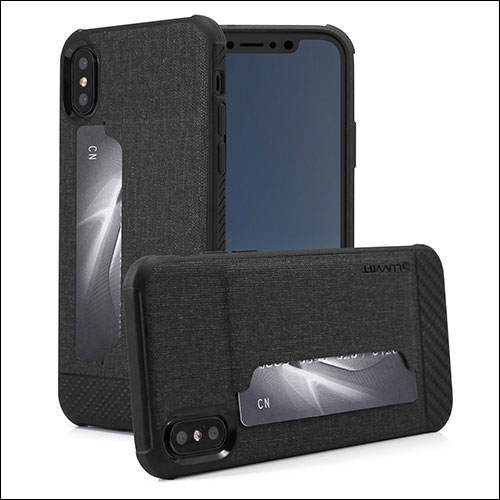 LUVVITT iPhone X Wallet Case