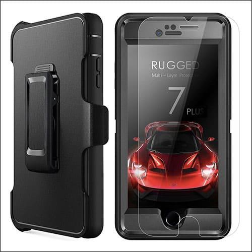 MBLAI iPhone 8 Plus Belt Clip Case