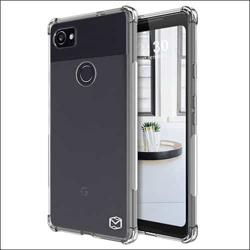 MP-MALL Google Pixel 2 Xl Clear Case