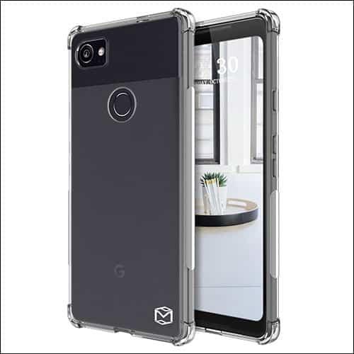 MP-MALL Google Pixel 2 Xl Clear Case