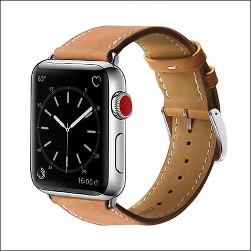 MargePlus Apple Watch Series 3 Leather Band