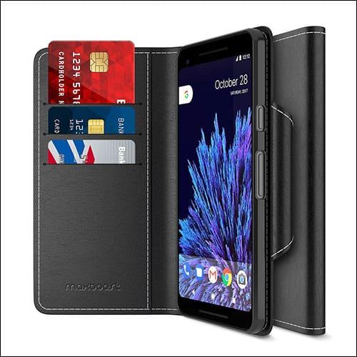 MaxBoost Google Pixel 2 XL Wallet Case