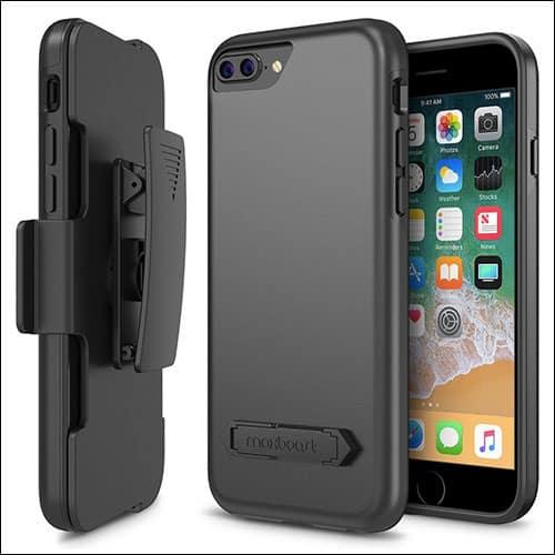 MaxBoost iPhone 8 Plus Belt Clip Case