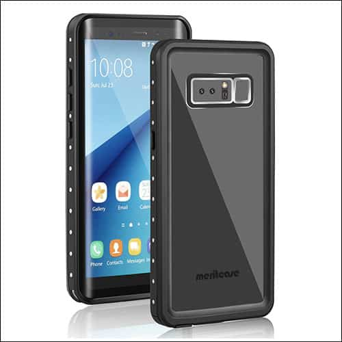 Meritcase Galaxy Note 8 Waterproof Case
