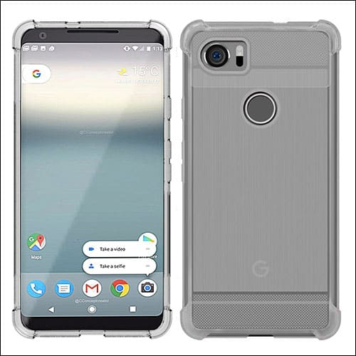 MicroP Google Pixel 2 Xl Clear Case