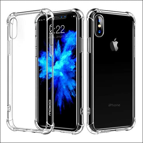 Moko iPhone X Clear Case