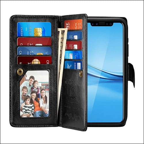 Pasonomi iPhone X Flip Case