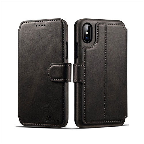 Pasonomi iPhone X Wallet Case