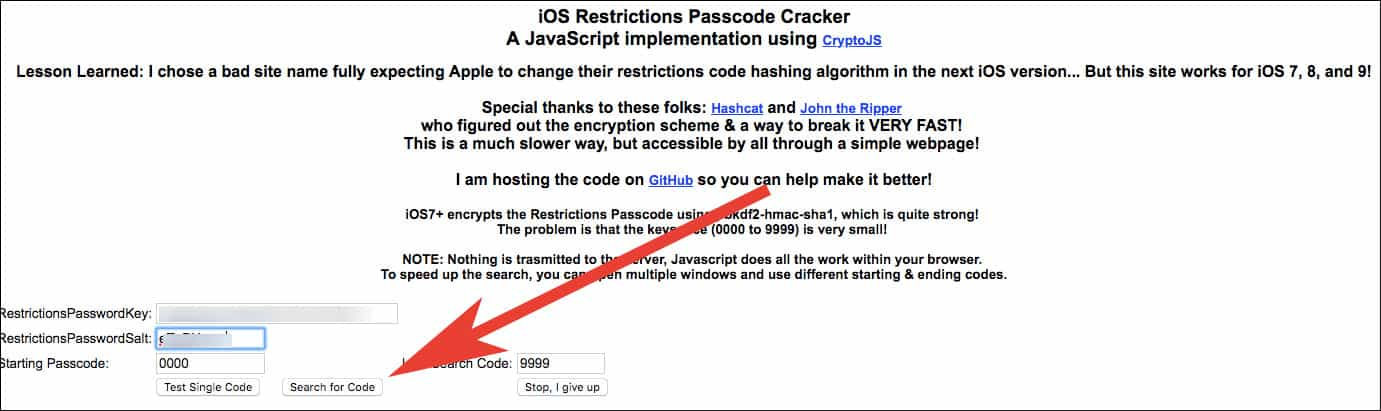 Forgotten Restrictions Passcode on iPhone or iPad? How to Recover it