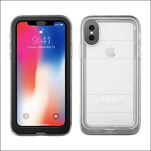 Pelican iPhone X Waterproof Case