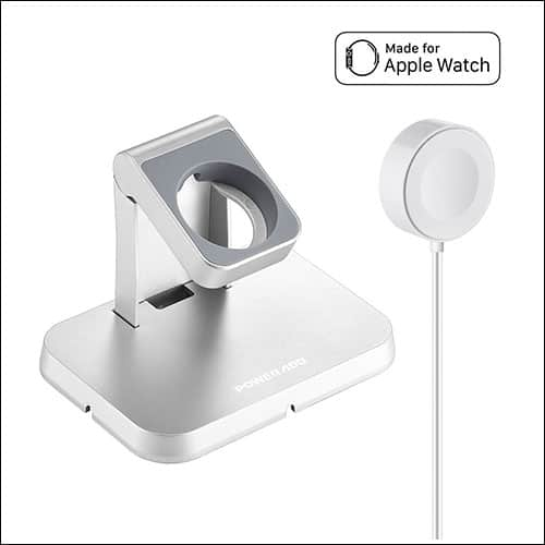 Poweradd Apple Watch Stand With Magnetic Charging Cable