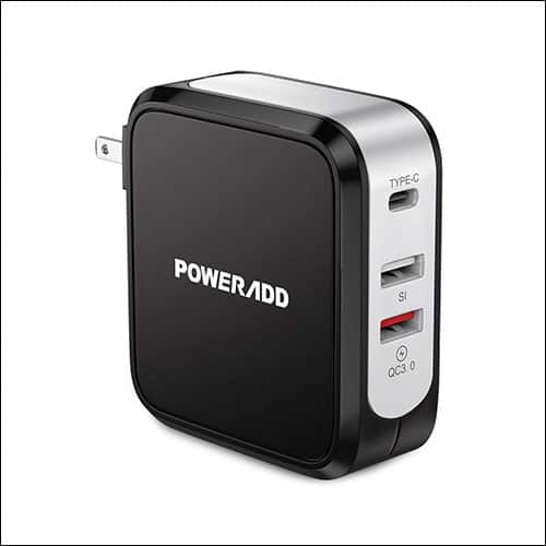 Poweradd USB C Charger for iPhone X, iPhone 8 Plus and iPhone 8