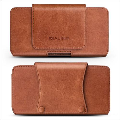 QIALINO iPhone 8 Plus Belt Clip Case
