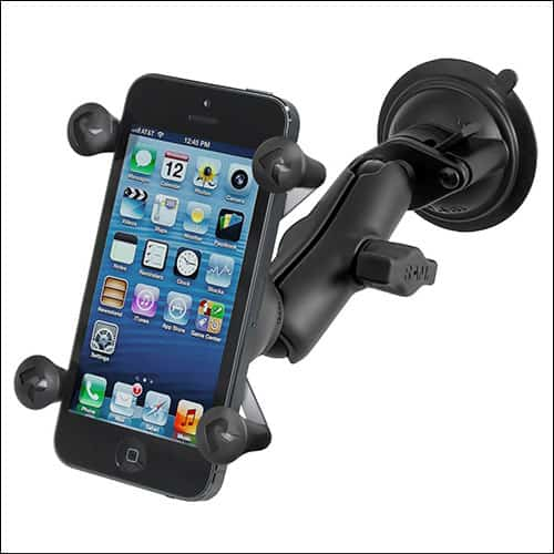 Ram Mounts Car Mount for iPhone X, iPhone 8, 8 Plus