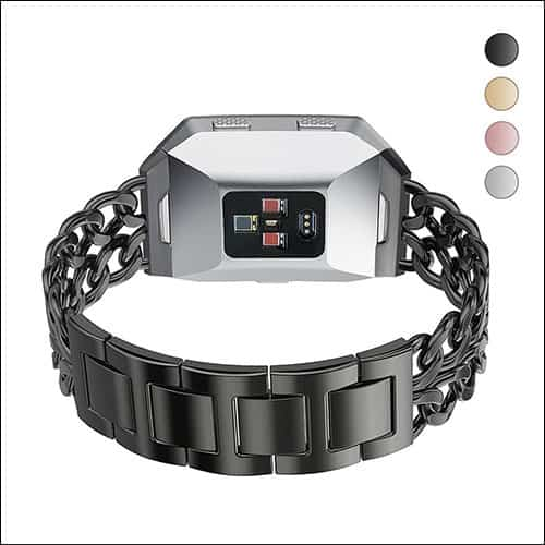 Agoigo Fitbit Ionic Stainless Steel Bands