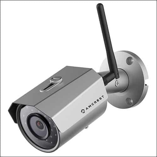 AmcrestWiFi Wireless IP Security Bullet Camera