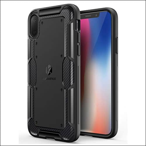 Anker iPhone X Case Compatible with Wireless Charging